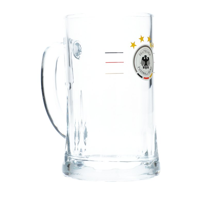 DFB Deutschland Bierkrug S-R-G Weiss - Weiss