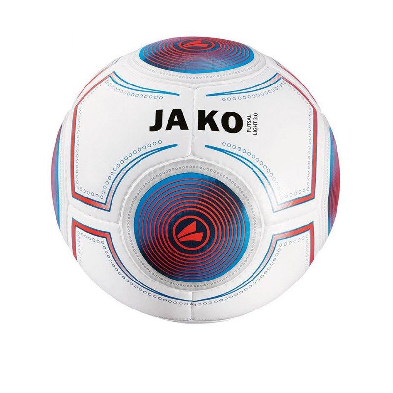 Jako Futsal Light 3.0 360g Gr.4 Fussball Weiss F19 - weiss