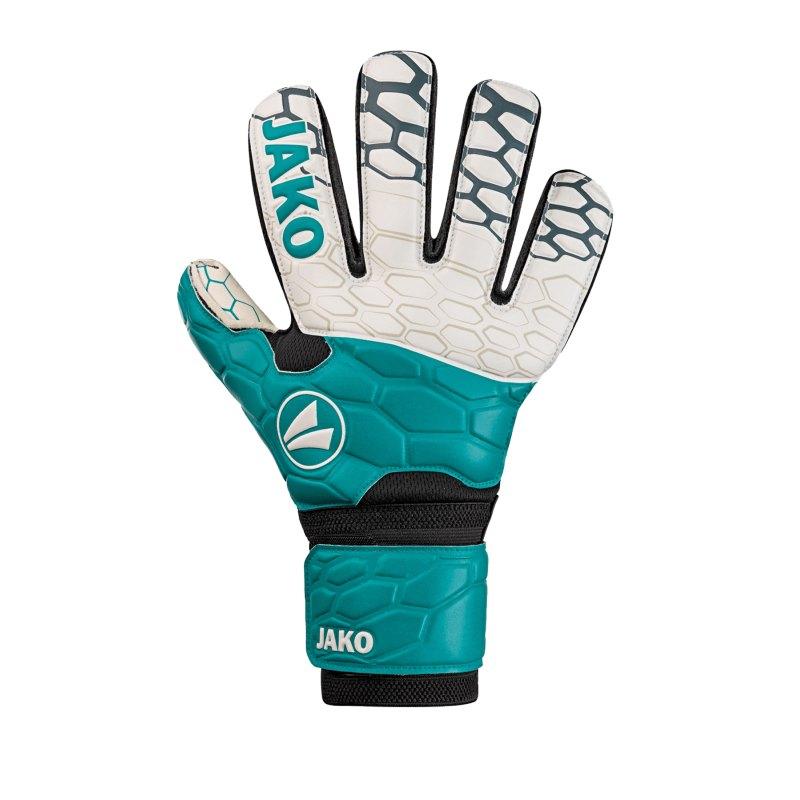JAKO TW-Handschuh Prestige Basic RC Türkis F24 - blau