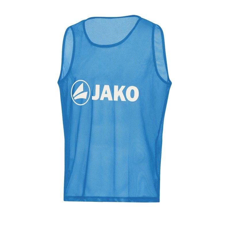 JAKO Classic 2.0 Kennzeichnungshemd Hellblau F45 - blau