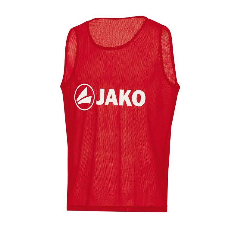 JAKO Classic 2.0 Kennzeichnungshemd Rot F01 - rot