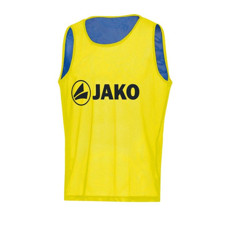 JAKO Reverse Kennzeichnungshemd Gelb F03 - gelb