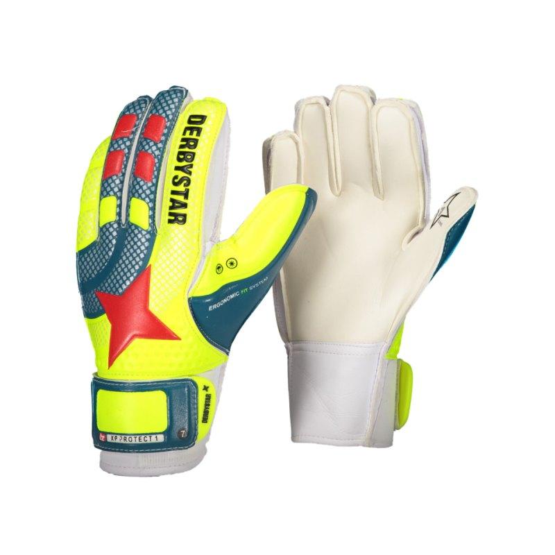 Derbystar XP Protect 17.1 TW-Handschuh Kids F000 - gelb