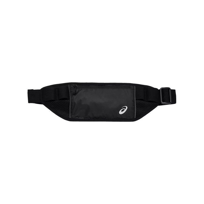 Asics Waist Pouch Hüfttasche Running Schwarz F002 - schwarz