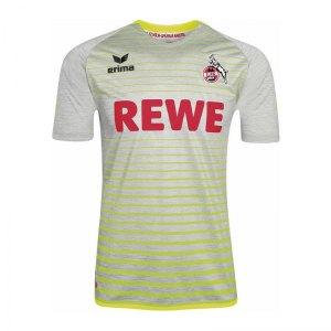 Erima Trikot 1. FC Köln 3rd 17/18 Grau Gelb - grau