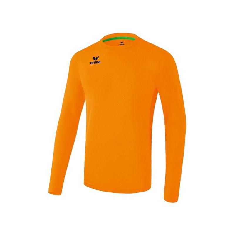 Erima Liga Trikot langarm Kids Orange - orange