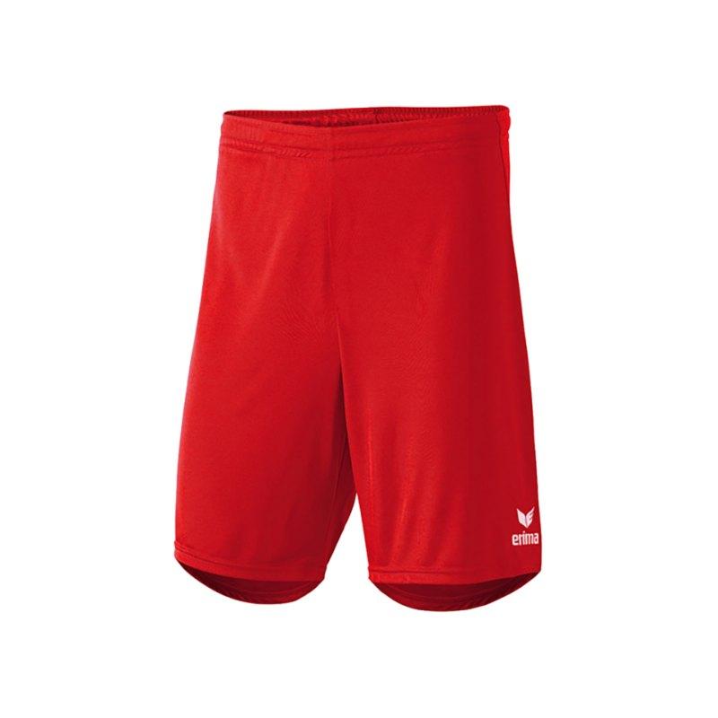Erima Short Rio 2.0 ohne Innenslip Rot - rot