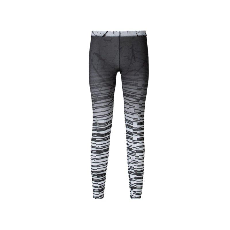 Odlo Insideout Tight Short Running Damen F70437 - schwarz