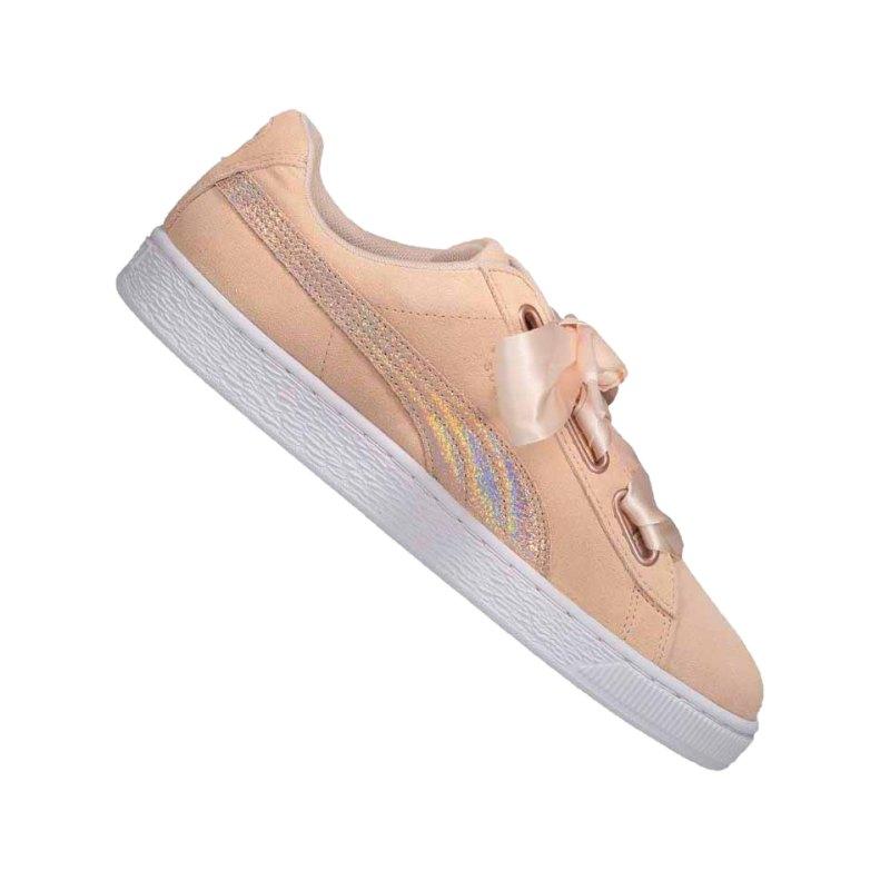 PUMA Suede Heart LunaLux Sneaker Damen F02 - beige