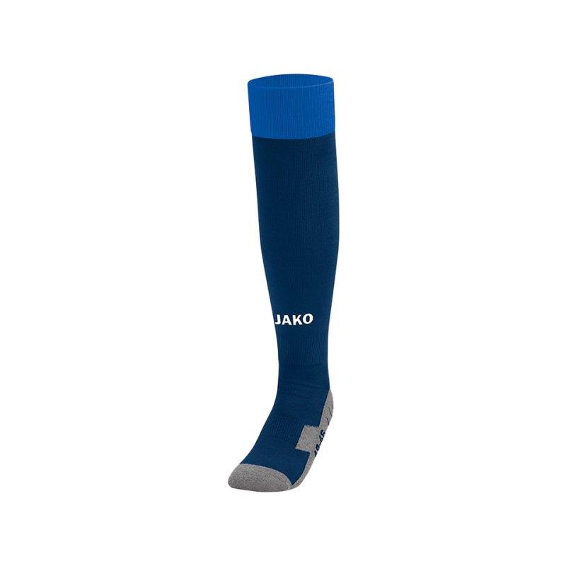 Jako Stutzenstrumpf Leeds Blau F09 - blau