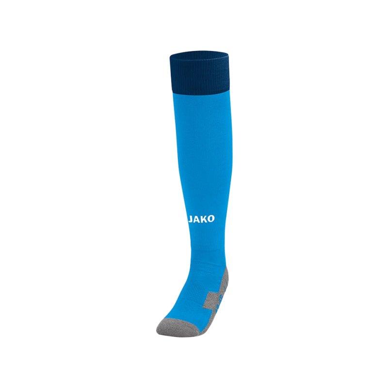 Jako Stutzenstrumpf Leeds Blau Gelb F89 - blau
