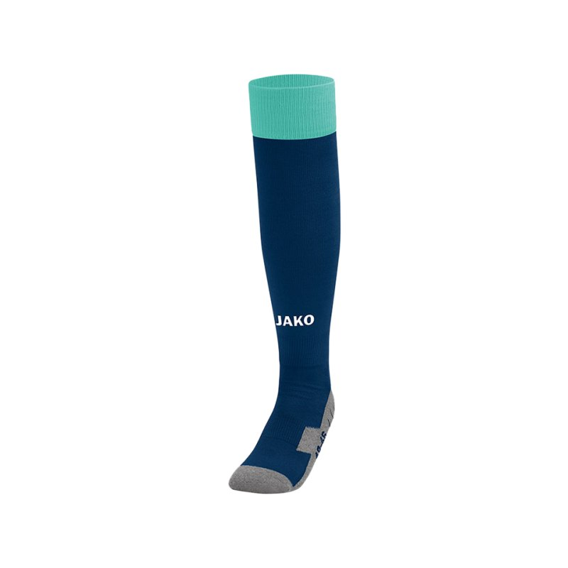 Jako Stutzenstrumpf Leeds Blau Grün F24 - blau