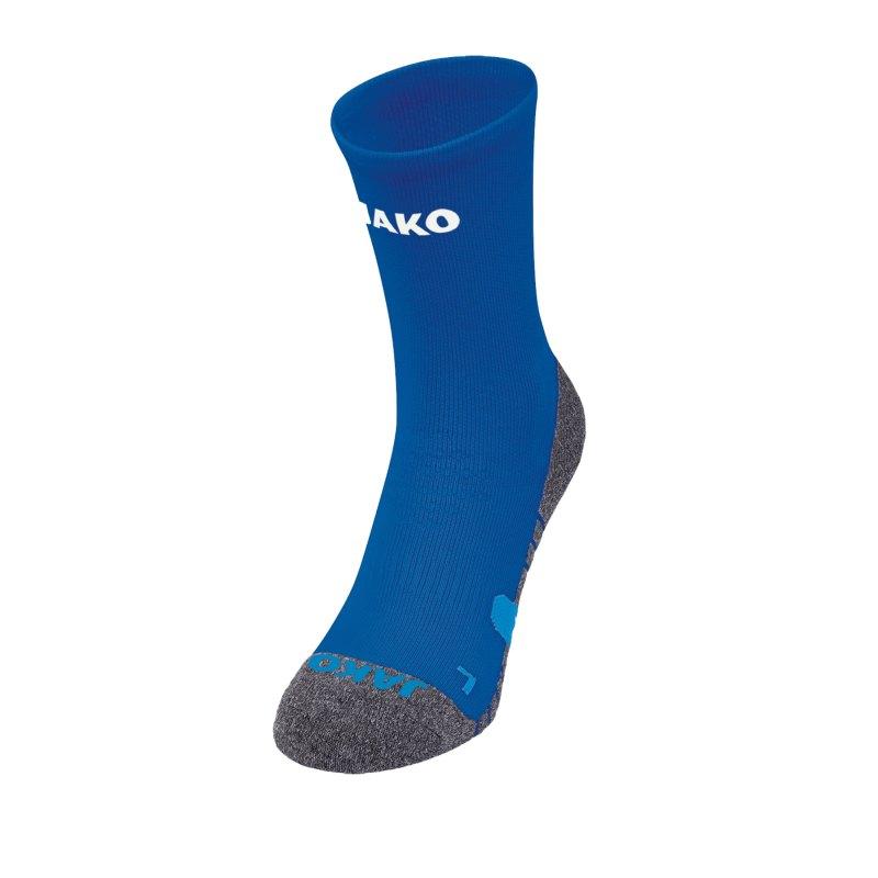 Jako Trainingssocken Blau F04 - blau
