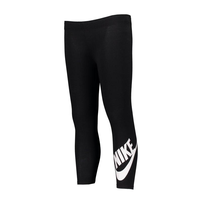 Nike Leg A See Leggings Kids Schwarz F023 - schwarz
