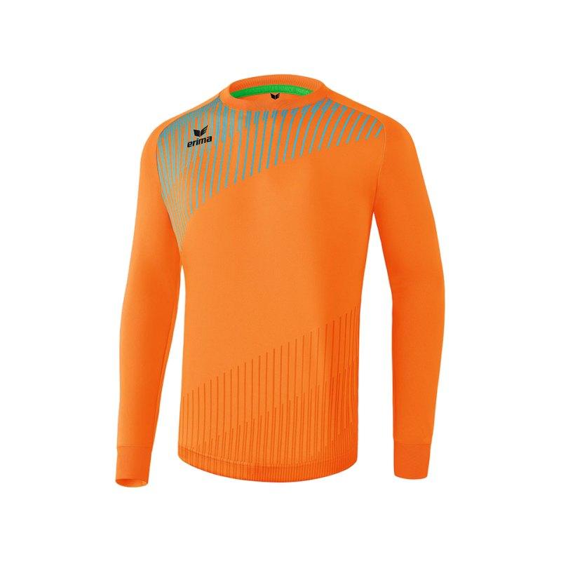 Erima Pro Torwarttrikot Orange Hellblau - orange