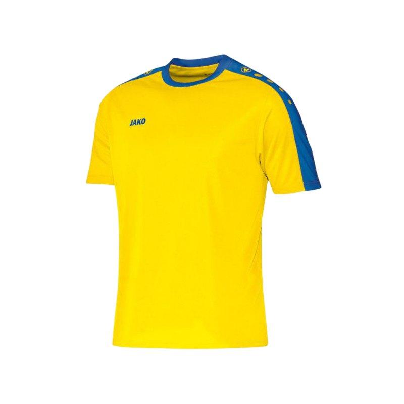 Jako Kurzarm Trikot Striker Kinder F12 Gelb - gelb