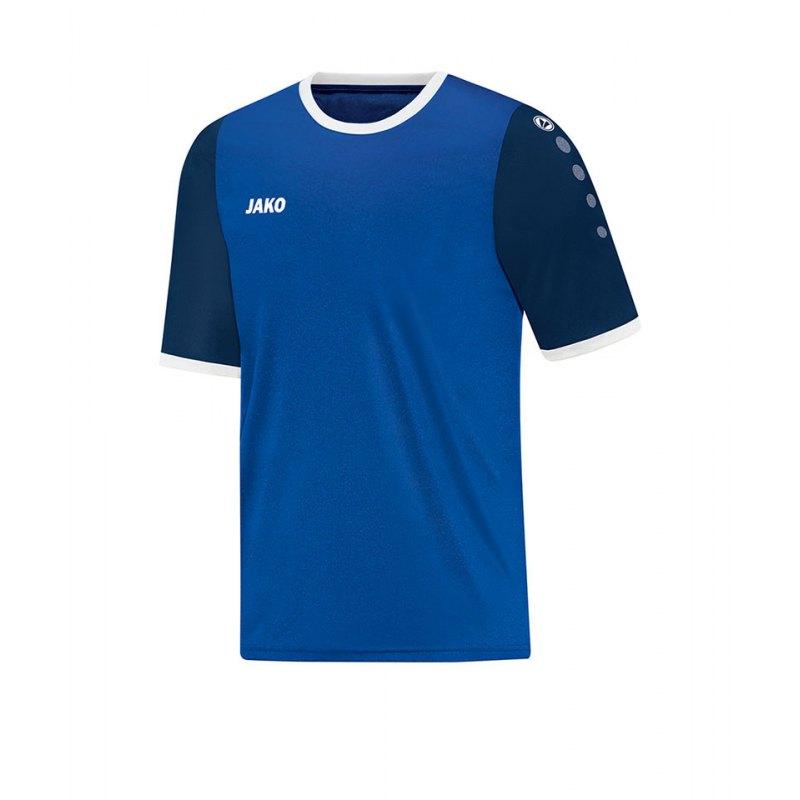 Jako Trikot Leeds kurzarm Kinder Blau F04 - blau