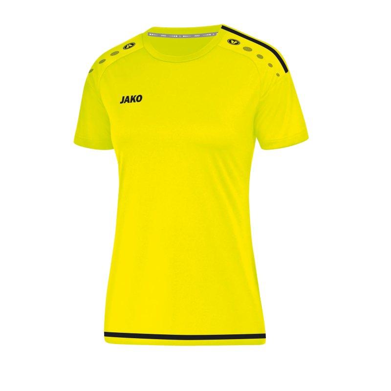 Jako Striker 2.0 Trikot kurzarm Damen Gelb F33 - gelb