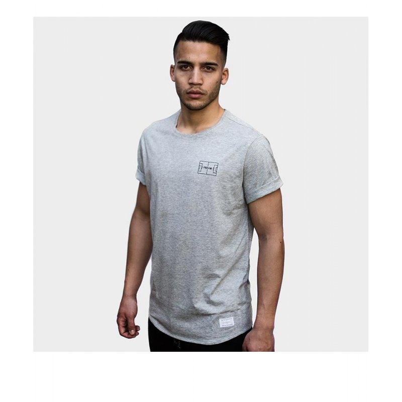 FREAM F.C. T-Shirt Basicline Crew 2 Grau - grau