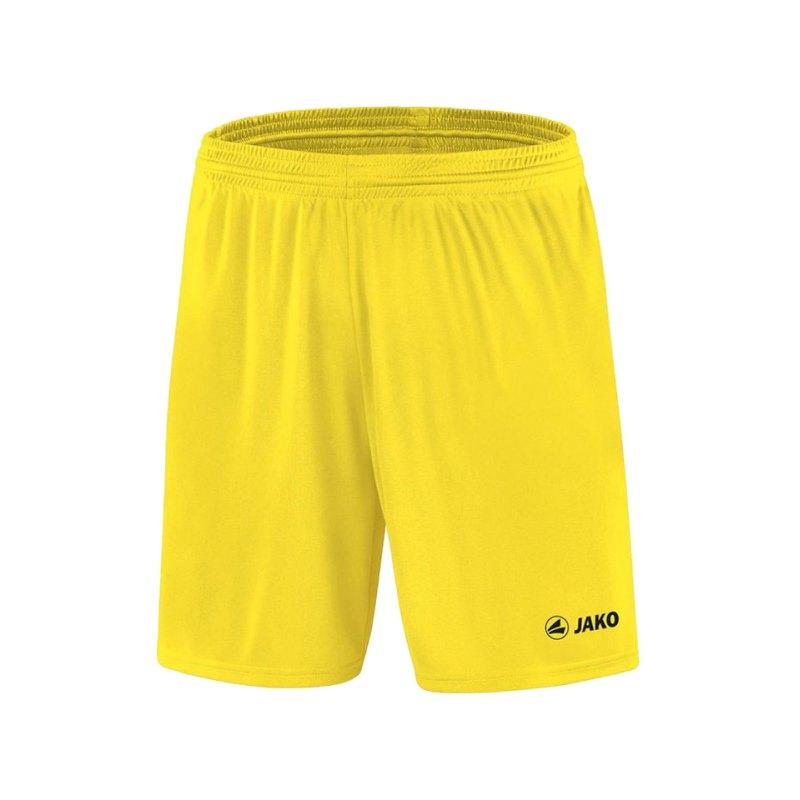 Jako Sporthose Anderlecht Short Gelb F03 - gelb