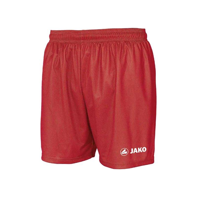 Jako Sporthose Anderlecht Short Rot F01 - rot