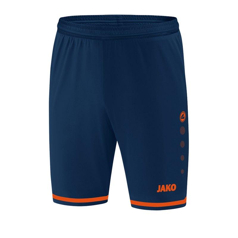 Jako Striker 2.0 Short Hose kurz Kids Blau F18 - Orange
