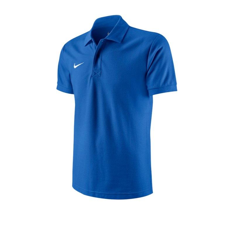 Nike Poloshirt TS Core Mens Polo Blau F463 - blau