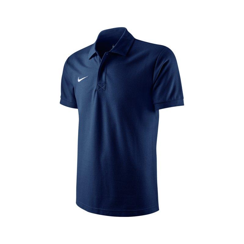Nike Poloshirt TS Core Mens Polo Navy F451 - blau
