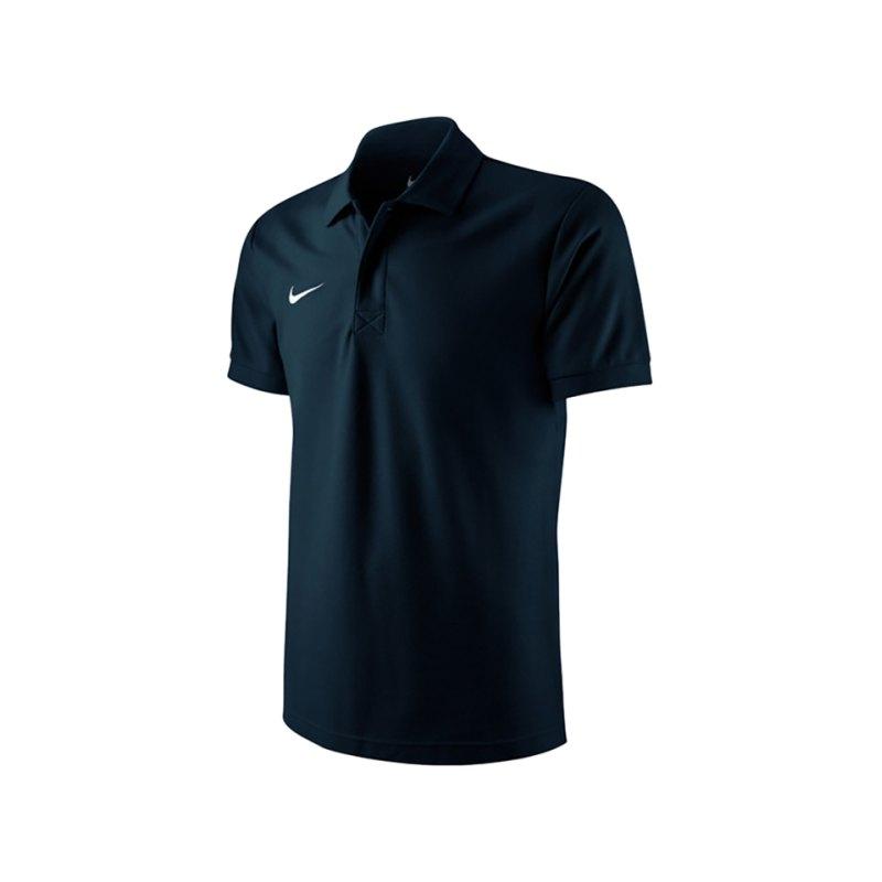 Nike TS Core Poloshirt Kids Schwarz F010 - schwarz