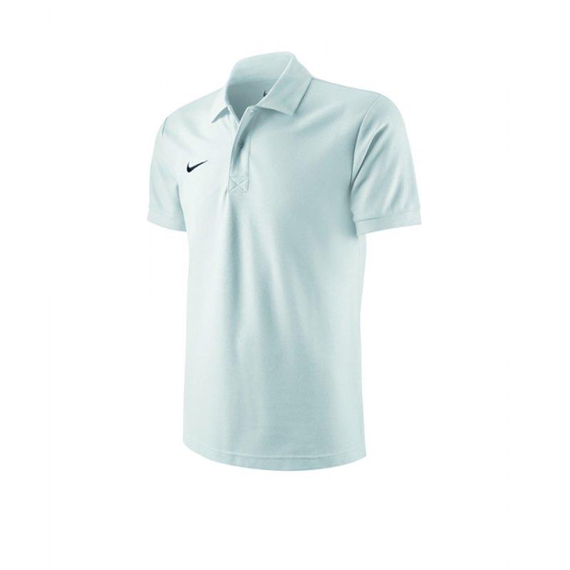 Nike TS Core Poloshirt Kids Weiss F100 - weiss