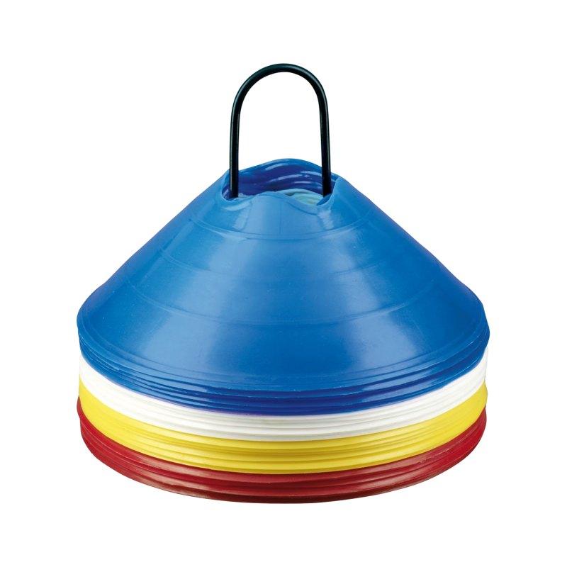 Derbystar Markierungshütchen Set 6cm - blau