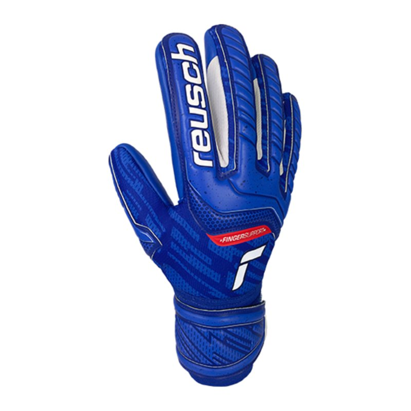 Reusch Attrakt Finger Support TW-Handschuh F4010 - blau
