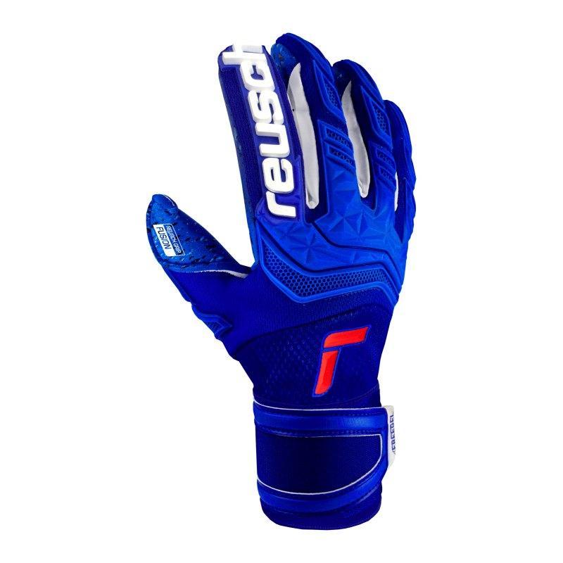 Reusch Attrakt Freegel Fusion TW-Handschuh F4010 - blau