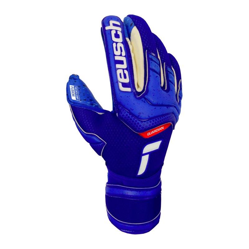 Reusch Attrakt Fusion TW-Handschuh Junior F4010 - blau