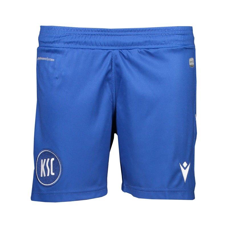 Macron Karlsruher SC Short Home 2020/2021 Kids Blau - blau