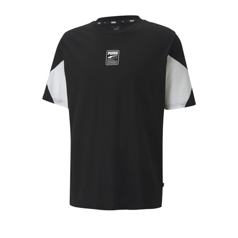 PUMA Rebel Advanced Tee T-Shirt Schwarz F01 - schwarz