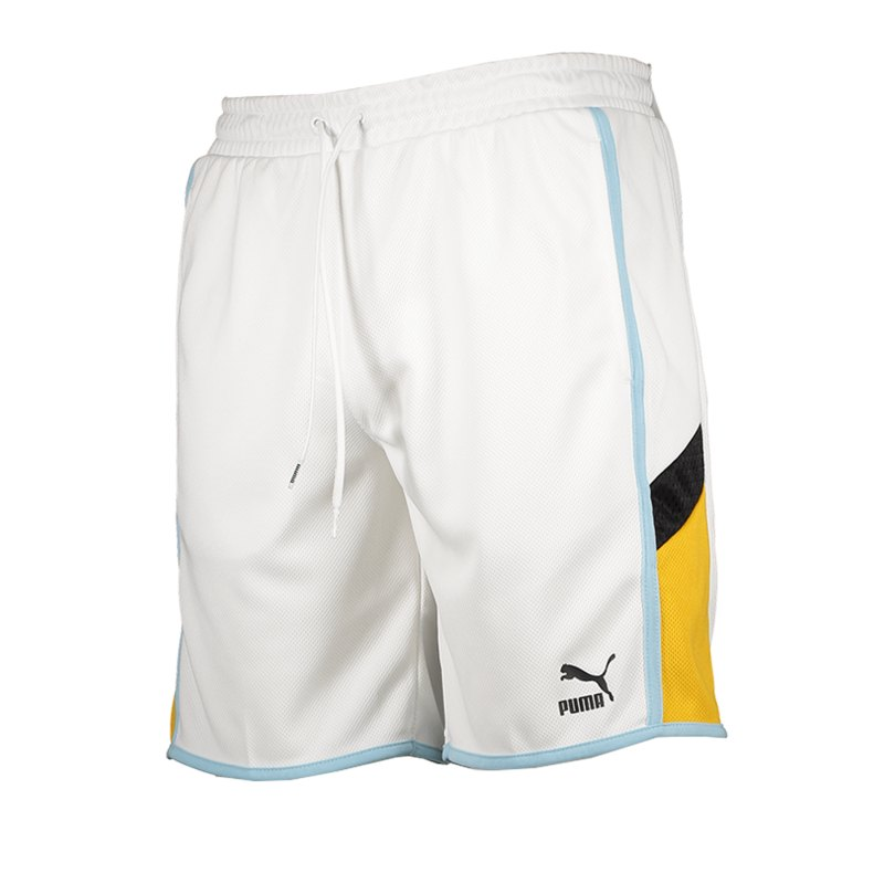 PUMA Iconic MCS Short 8 Weiss F02 - weiss