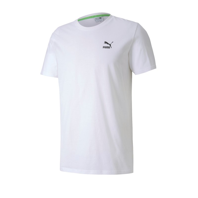 PUMA TFS Graphic T-Shirt Weiss F52 - weiss