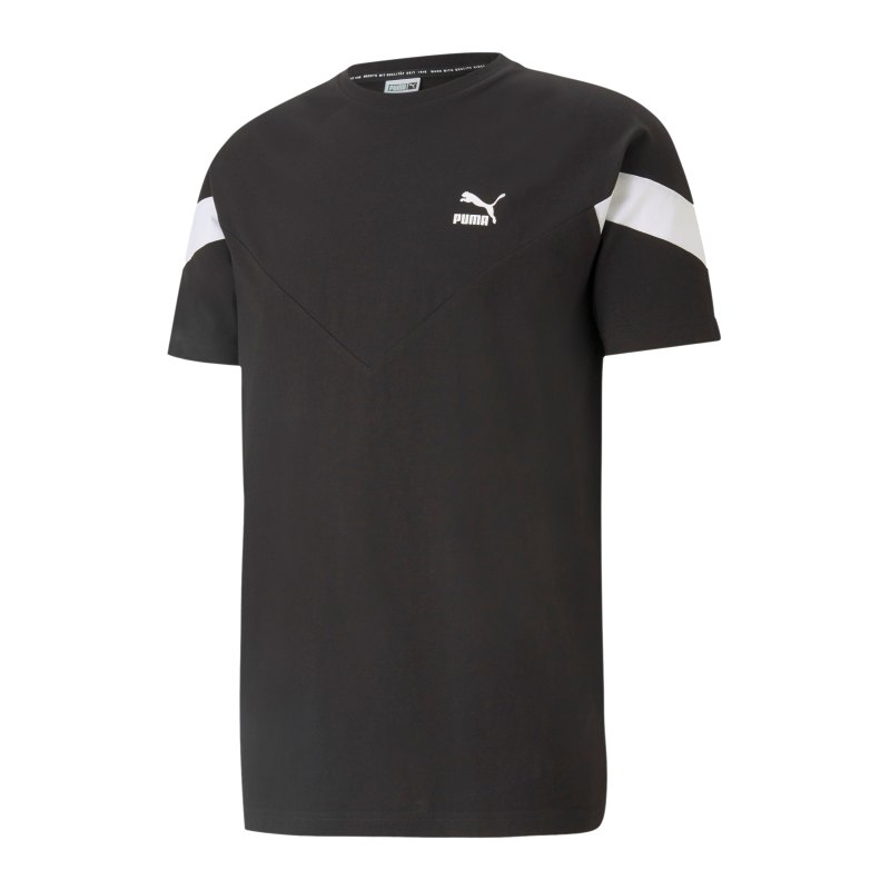 PUMA Iconic MSC T-Shirt Schwarz F01 - schwarz