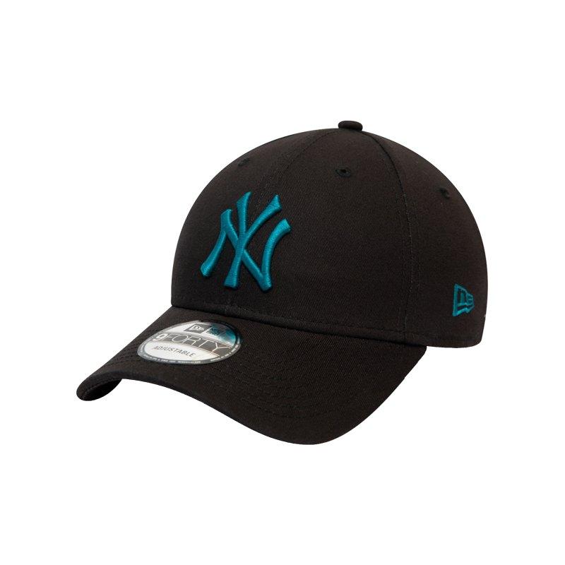 New Era NY Yankees Essential 9Forty Cap FBLK - schwarz