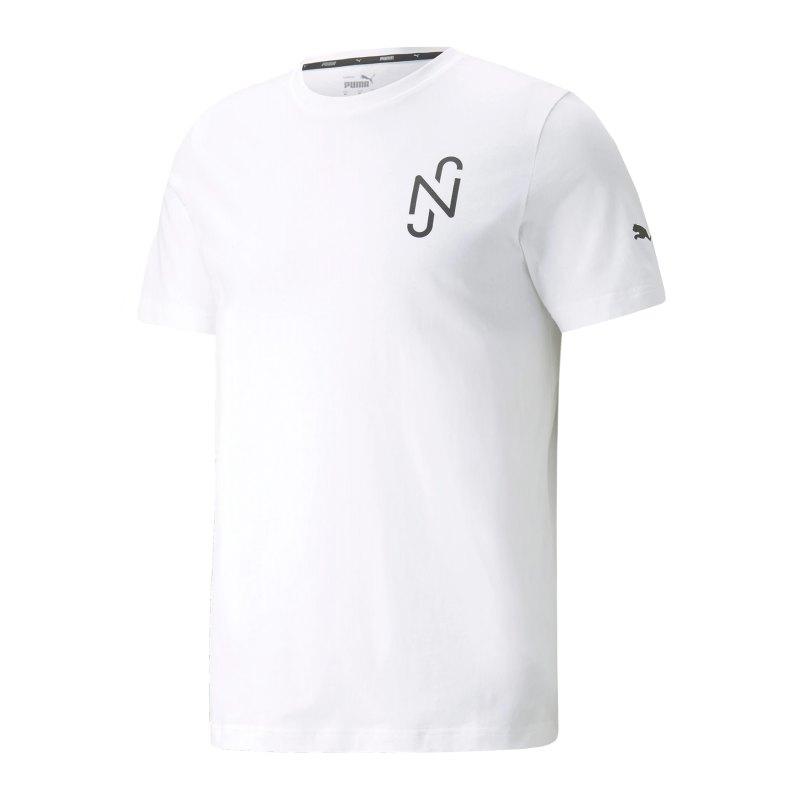 PUMA NJR Copa T-Shirt Kids Weiss F05 - weiss