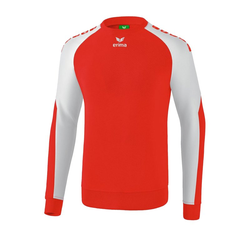 Erima Essential 5-C Sweatshirt Kids Rot Weiss - Rot