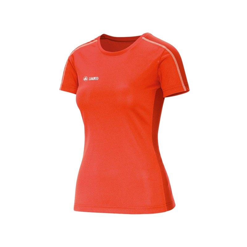 Jako Sprint T-Shirt Running Damen Orange F18 - orange