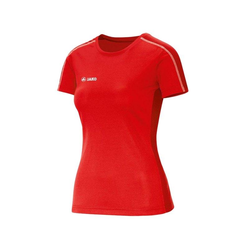 Jako Sprint T-Shirt Running Damen Rot F01 - rot