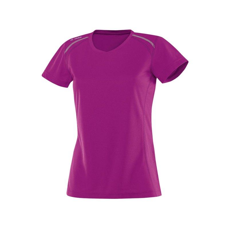 Jako T-Shirt Active Run Damen Pink F51 - pink