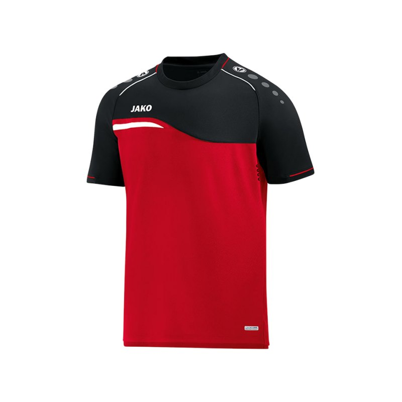 Jako Competition 2.0 T-Shirt Kids Rot Schwarz F01 - rot