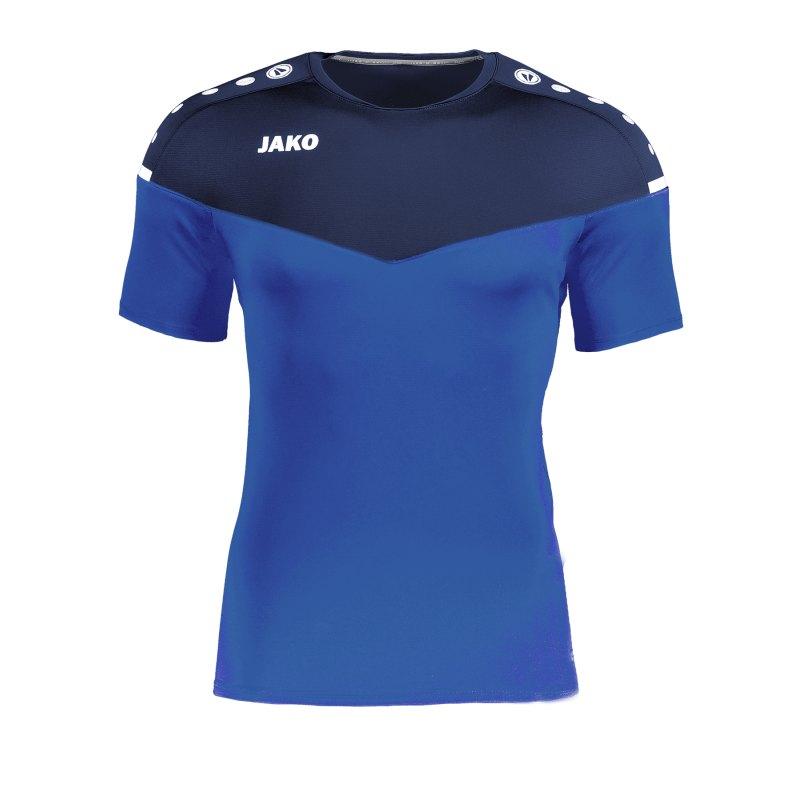 Jako Champ 2.0 T-Shirt Blau F49 - blau
