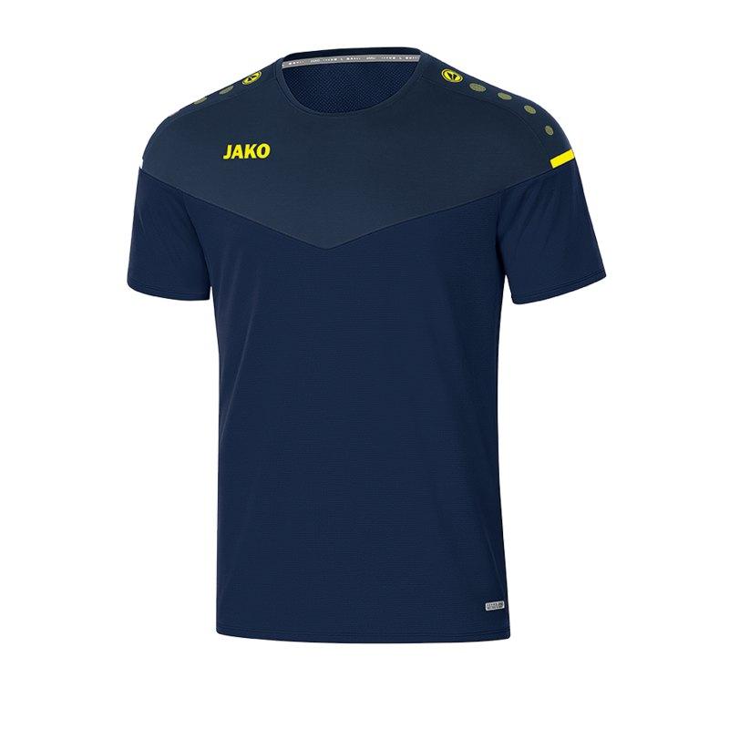Jako Champ 2.0 T-Shirt Blau F93 - blau