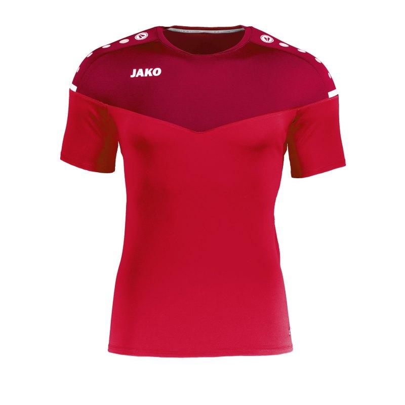 Jako Champ 2.0 T-Shirt Damen Rot F01 - rot