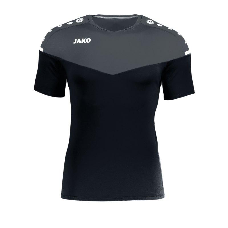 Jako Champ 2.0 T-Shirt Damen Schwarz F08 - schwarz
